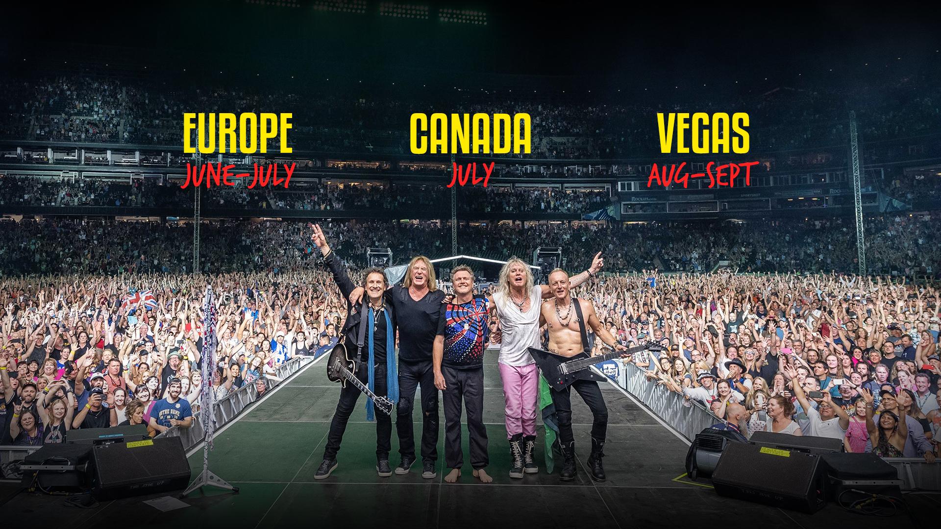 DefLeppard com | 2019 Tickets On Sale Now
