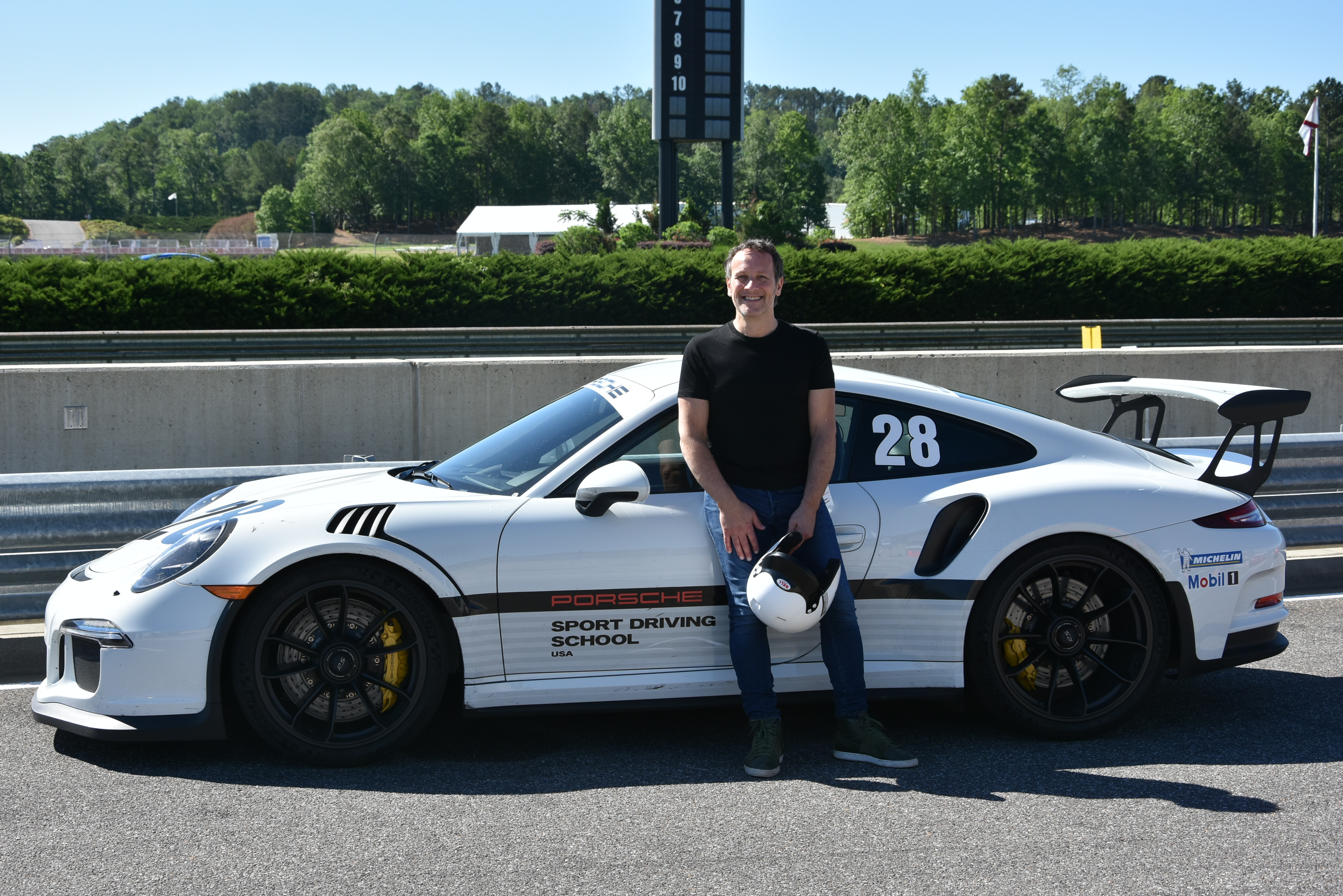Porsche Driving School >> Vivian At Porsche Sport Driving School Def Leppard