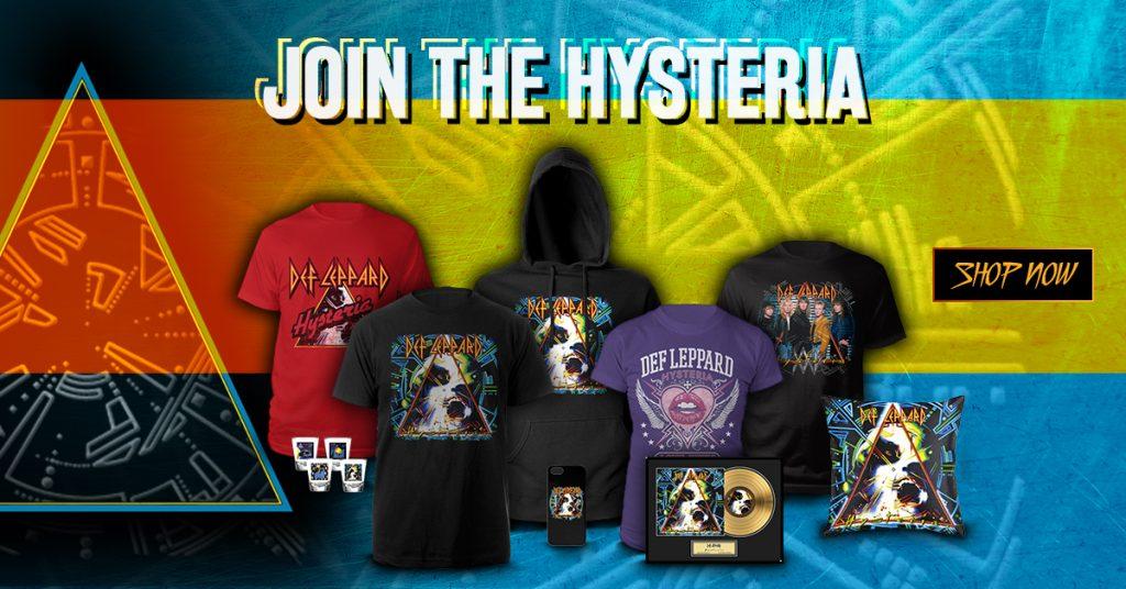 ba1f4158 New - Official Def Leppard Hysteria Shop | Def Leppard
