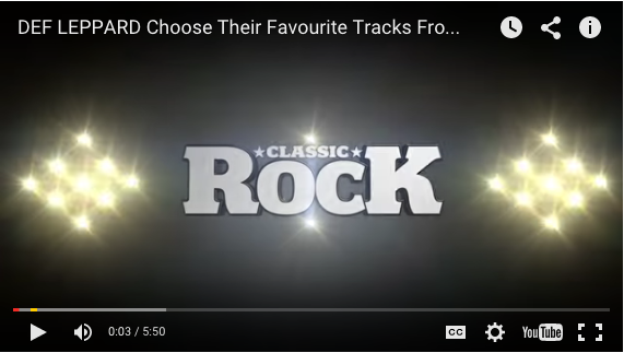Classic rock Video Exclusive 2015