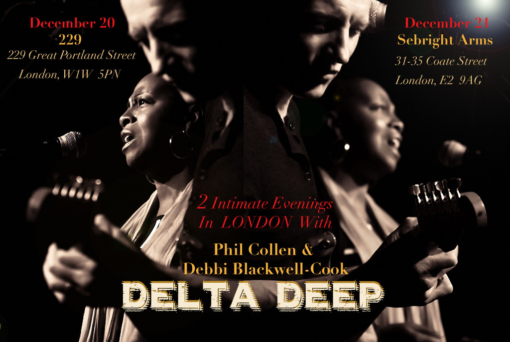 Delta Deep Phil and Debbi UK promo