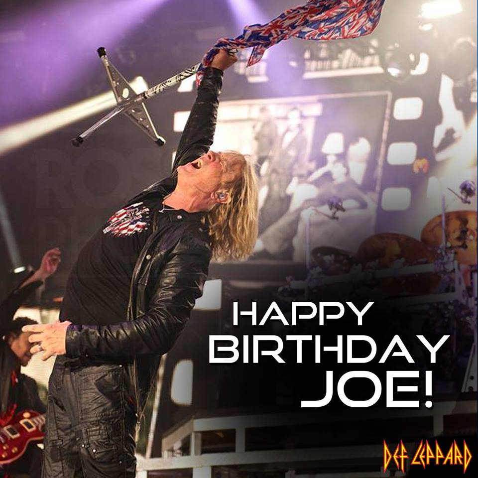 Joe Elliott - B-Day Post