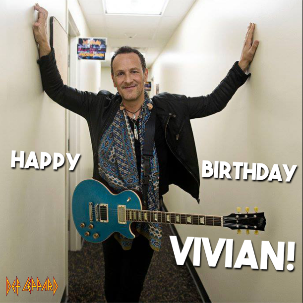 Vivian Campbell Birthday Graphic