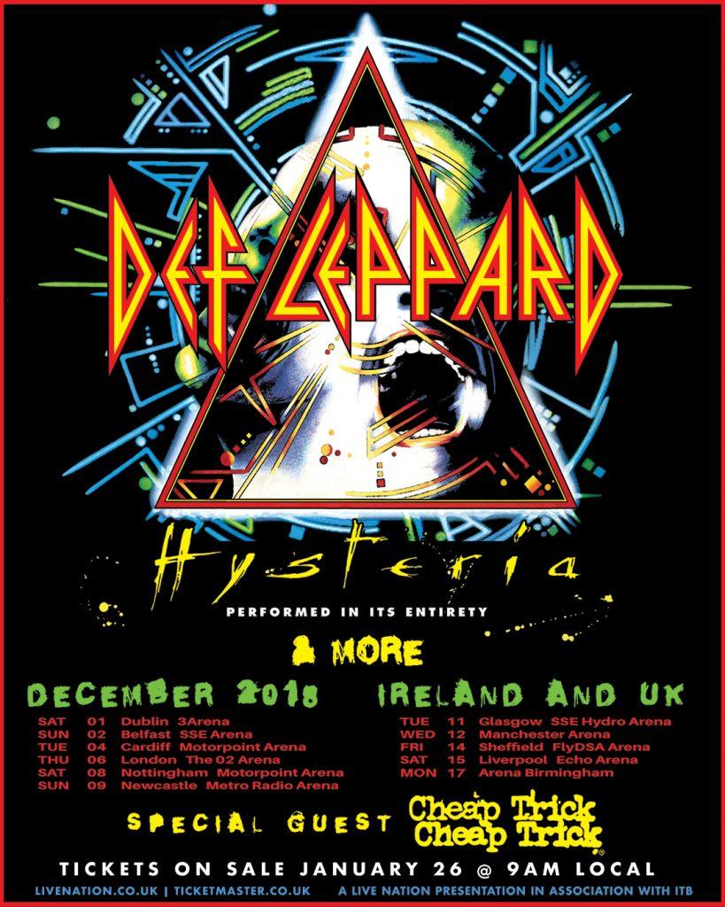 Def Leppard Hysteria Tour