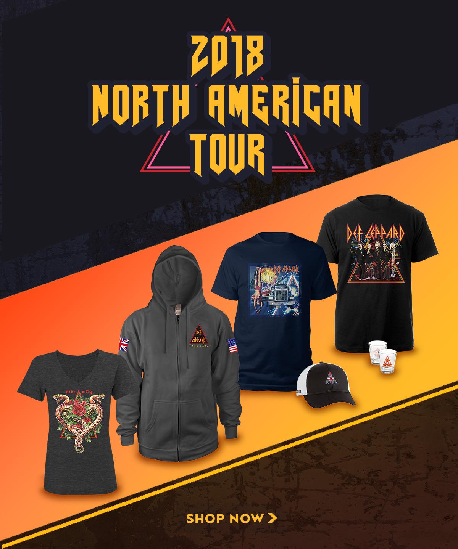 Tee Def Leppard 2018 Tour Photo