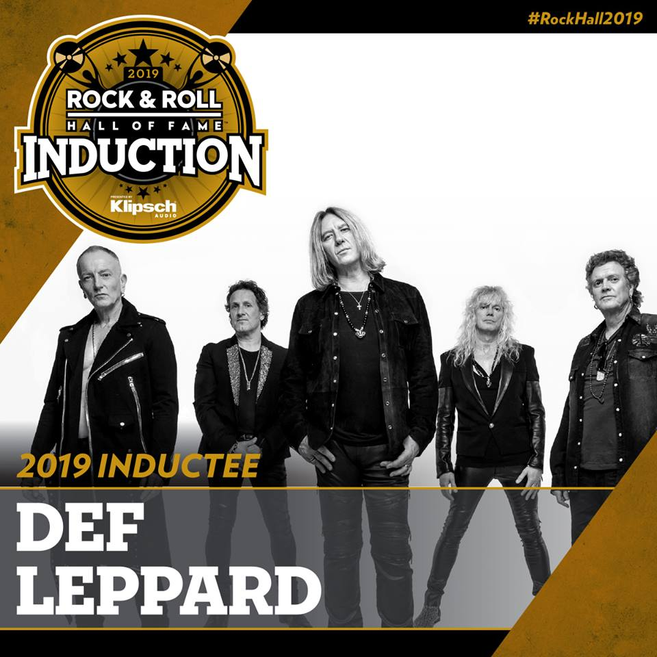 DEF LEPPARD TO BE INDUCTED INTO ROCK & ROLL HALL OF FAME | Def Leppard