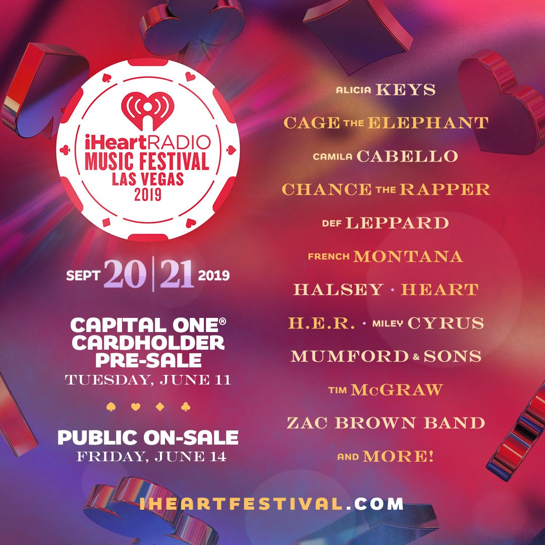 Iheartradio Music Festival 2020.Def Leppard To Perform At 2019 Iheartradio Festival Def