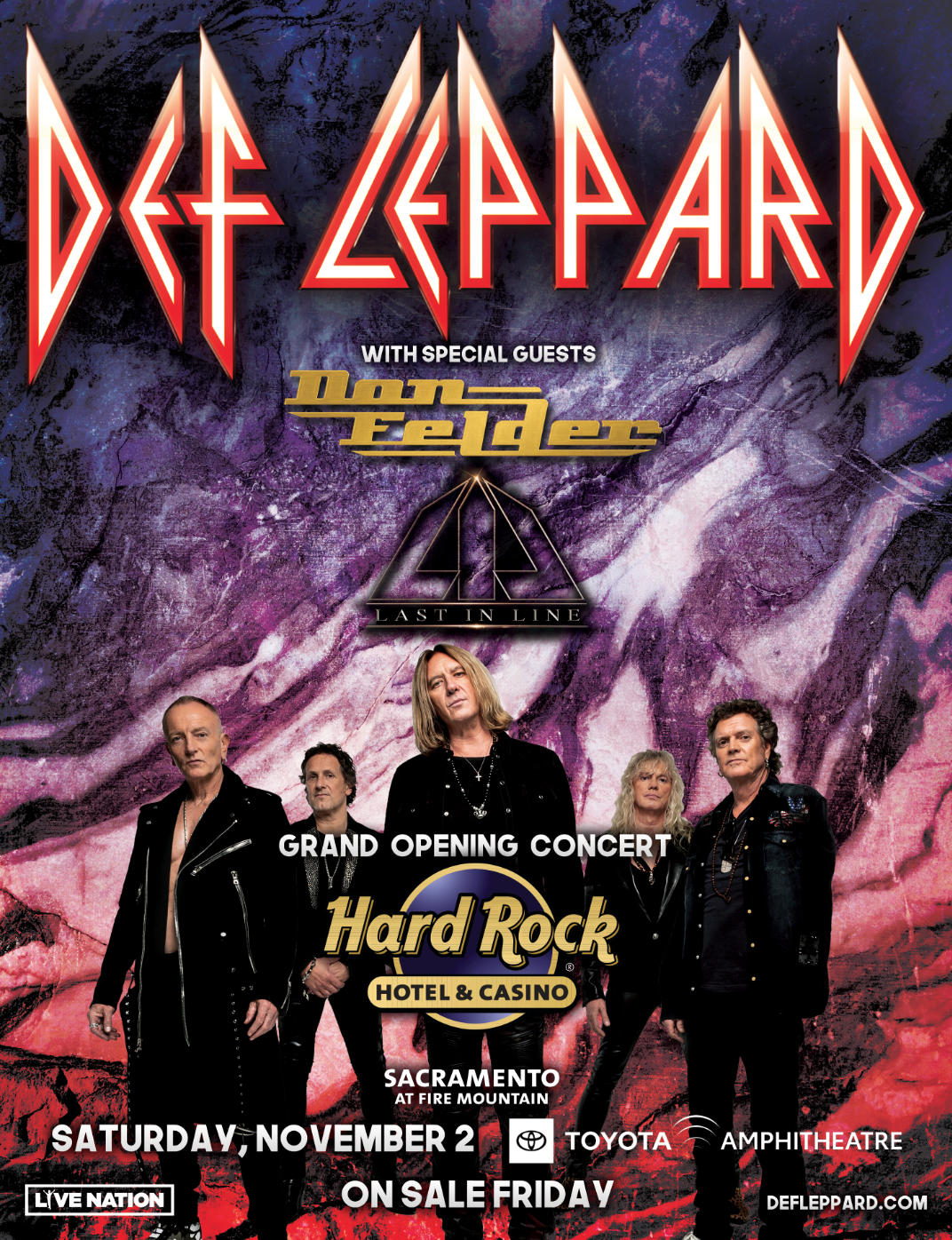 Def Leppard Journey Tour 2020.Concert Announced Def Leppard Rock Grand Opening Of Hard